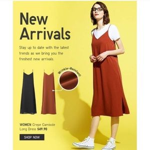 New Uniqlo slip dress